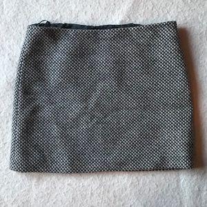 EUC J Crew Factory wool knit miniskirt